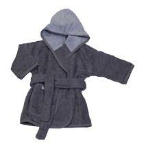 grijze badjas voor kinderen van 1 tot 2 jaar