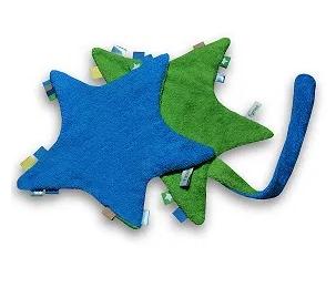 blauw/groene speenketting ster van het merk Funnies