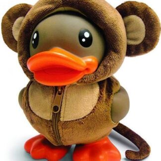 b.duck spaarpot verkleed als een aapje