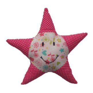 Roze ster van het merk Global Affairs