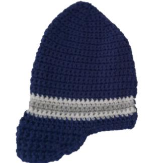 Handgemaakte muts in de vorm van een cap