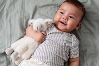 Lekker knuffelen met lama Lily